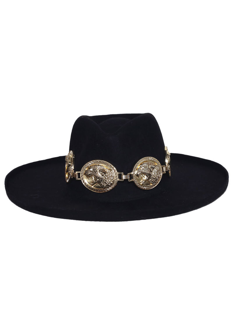 Jagger Hat in Gold