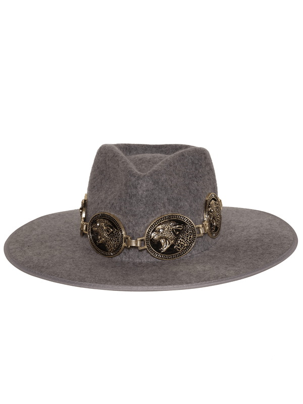 Jagger Hat in Black/Gold