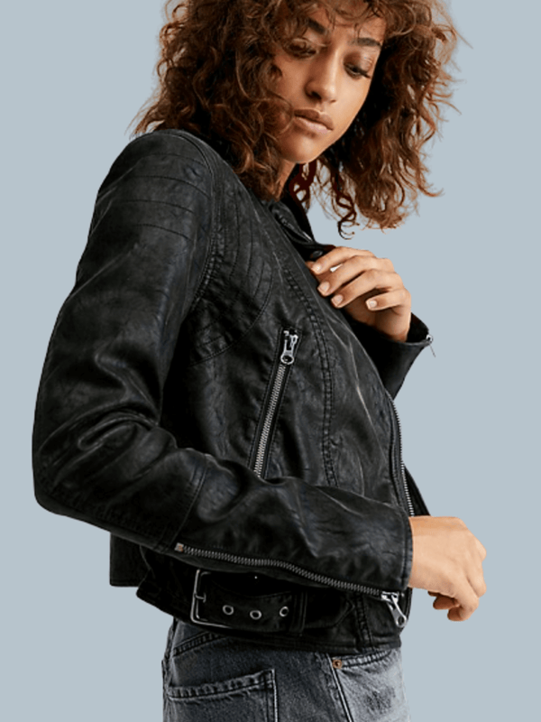 Fenix Vegan Moto Jacket Free People