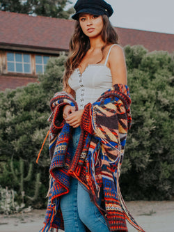 Follow The Arrow Poncho