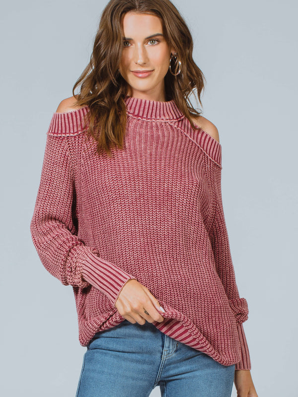 Half Moon Bay Pullover Sweater Free People