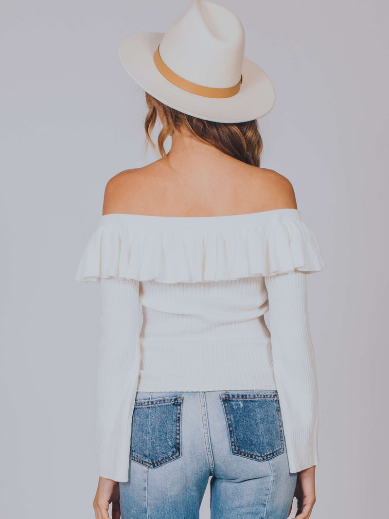Lilly Off Shoulder Knit MINKPINK
