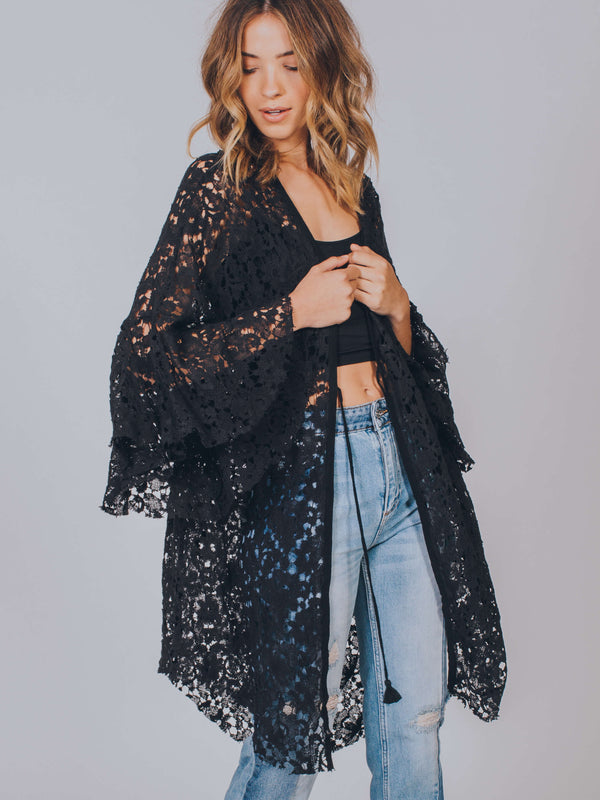 Move Over Lace Robe