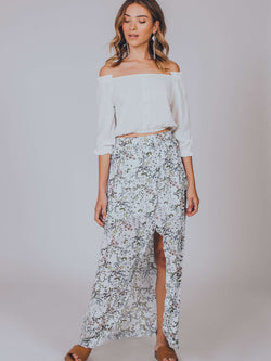 Woodland Days Split Midi Skirt Somedays Lovin