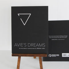 Avie's Dreams: An Afro-Feminist Coloring Book | Front