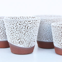 Beaded Planter | Elizabeth Eisenstein - ZZIEE Ceramics | Elizabeth Eisenstein - ZZIEE Ceramics | Joshua Tree, CA at Sustain - Gallery and Shop - Chicago, IL