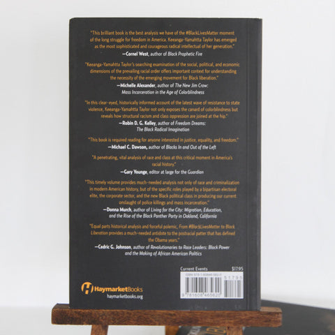 From #BlackLivesMatter to Black Liberation | Back Cover