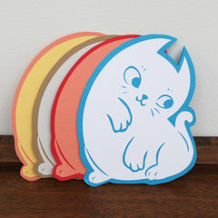 Kitten Die-Cut | Rachel Bard