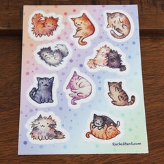 Kitten Stickers - V1 | Rachel Bard