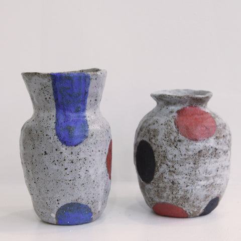 Colored Vases | Chie Fujii - CHIECO Ceramics | Chie Fujii - CHIECO Ceramics | Los Angeles, CA at Sustain - Gallery and Shop - Chicago, IL