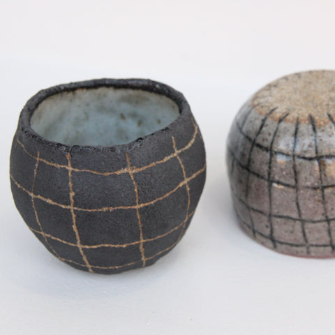 Grid 'Rocks' Cup | Chie Fujii - CHIECO Ceramics | Chie Fujii - CHIECO Ceramics | Los Angeles, CA at Sustain - Gallery and Shop - Chicago, IL