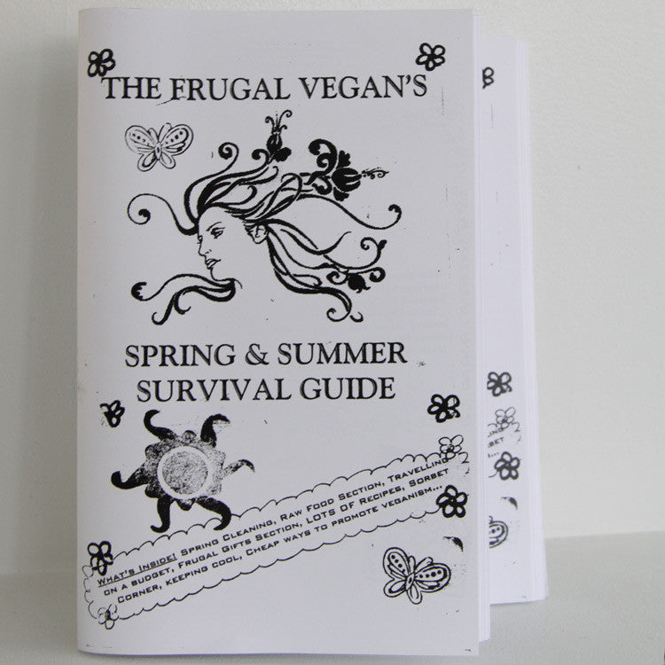 The Frugal Vegan's Survival Guide | Microcosm Publishing at Sustain - Gallery and Shop - Chicago, IL
