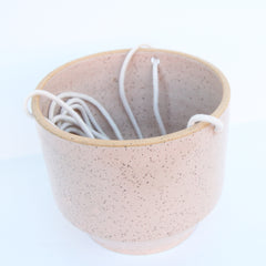 Hanging Planter | Elizabeth Eisenstein - ZZIEE Ceramics | Elizabeth Eisenstein - ZZIEE Ceramics | Joshua Tree, CA at Sustain - Gallery and Shop - Chicago, IL