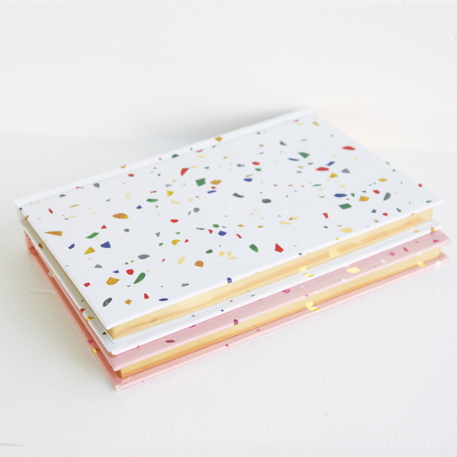 Terrazzo Hardcover Notebook | Poketo | Los Angeles, CA at Sustain - Gallery and Shop - Chicago, IL