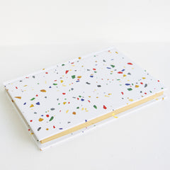 Terrazzo Hardcover Notebook - Sustain - Gallery and Workspace | Art, Prints, Zines, Workshops | Chicago, IL