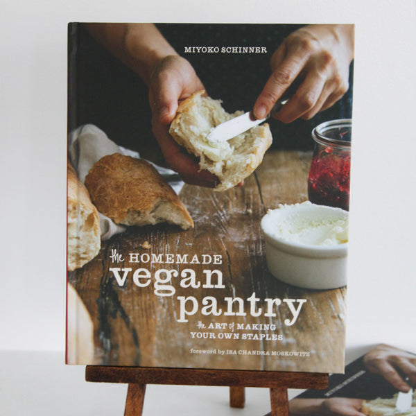 Homemade Vegan Pantry: The Art of Making Your Own Staples | Cover