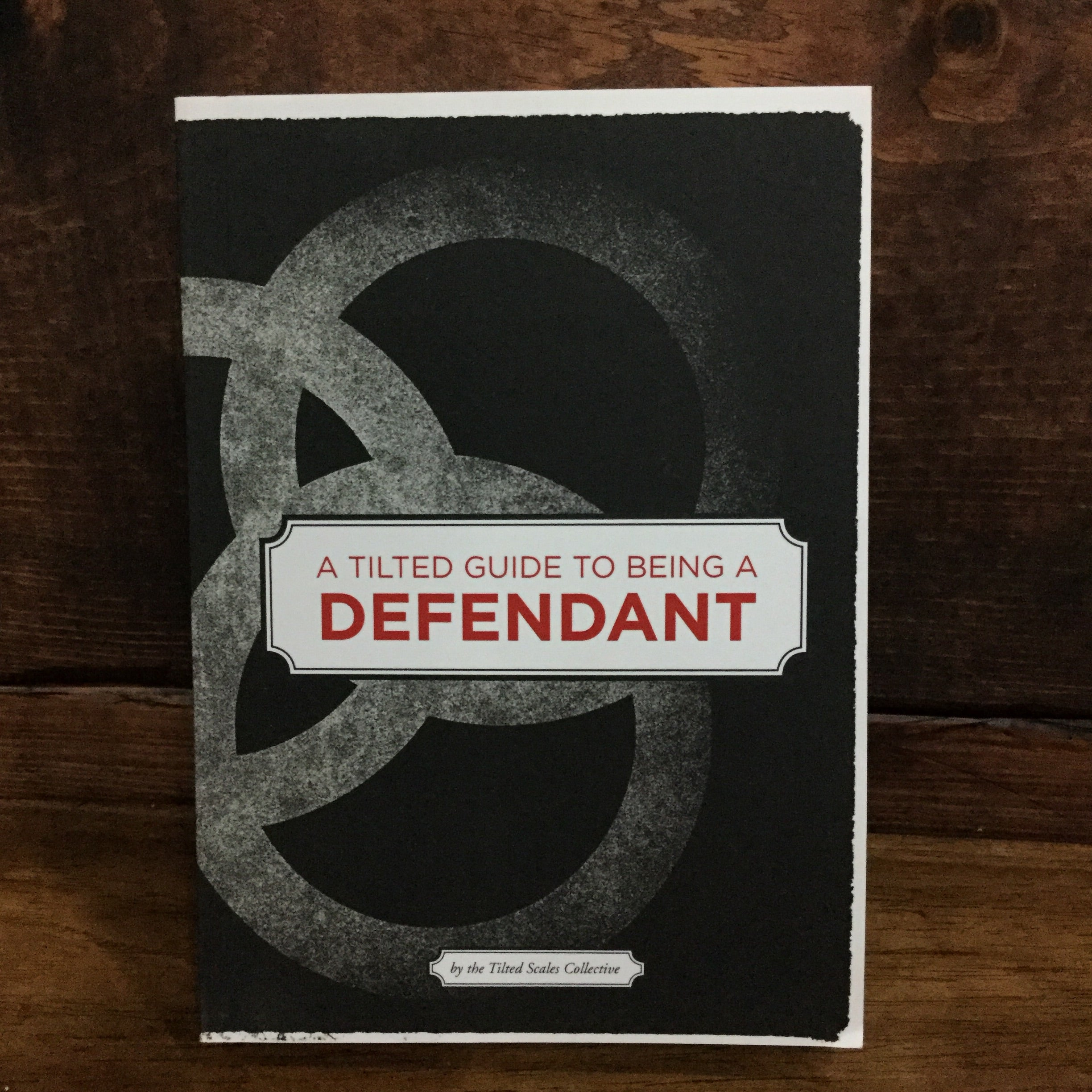 A Tilted Guide to Being a Defendant - Sustain - Gallery and Workspace | Art, Prints, Zines, Workshops | Chicago, IL