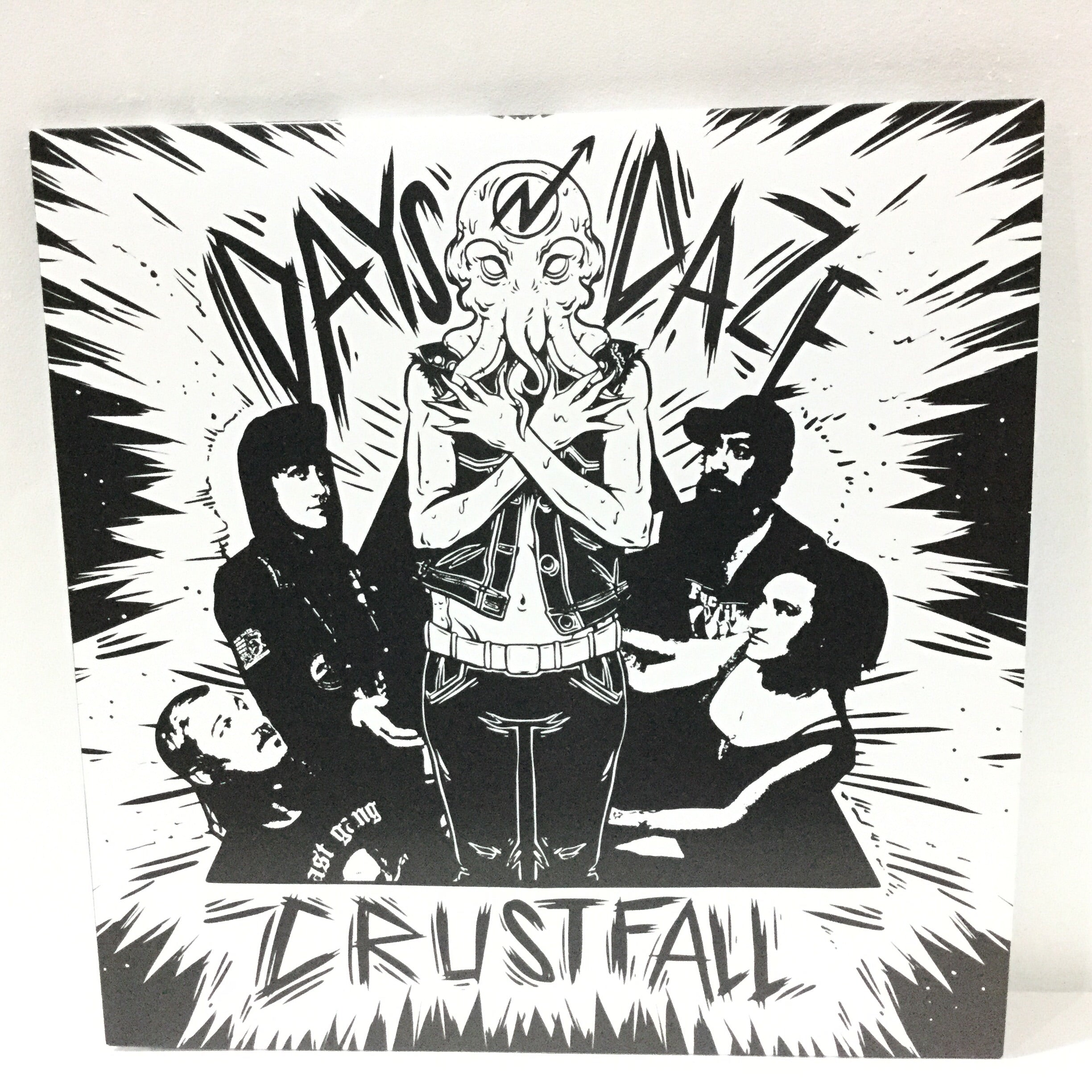Days N Daze - Crustfall - Sustain - Gallery and Workspace | Art, Prints, Zines, Workshops | Chicago, IL