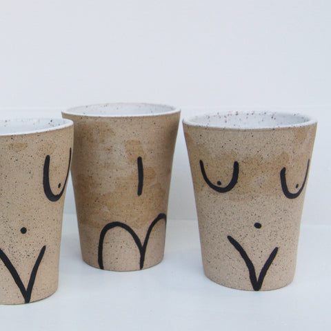 Front and Back Tumbler | Jen Dwyer | Jen Dwyer | Ceramics at Sustain - Gallery and Shop - Chicago, IL