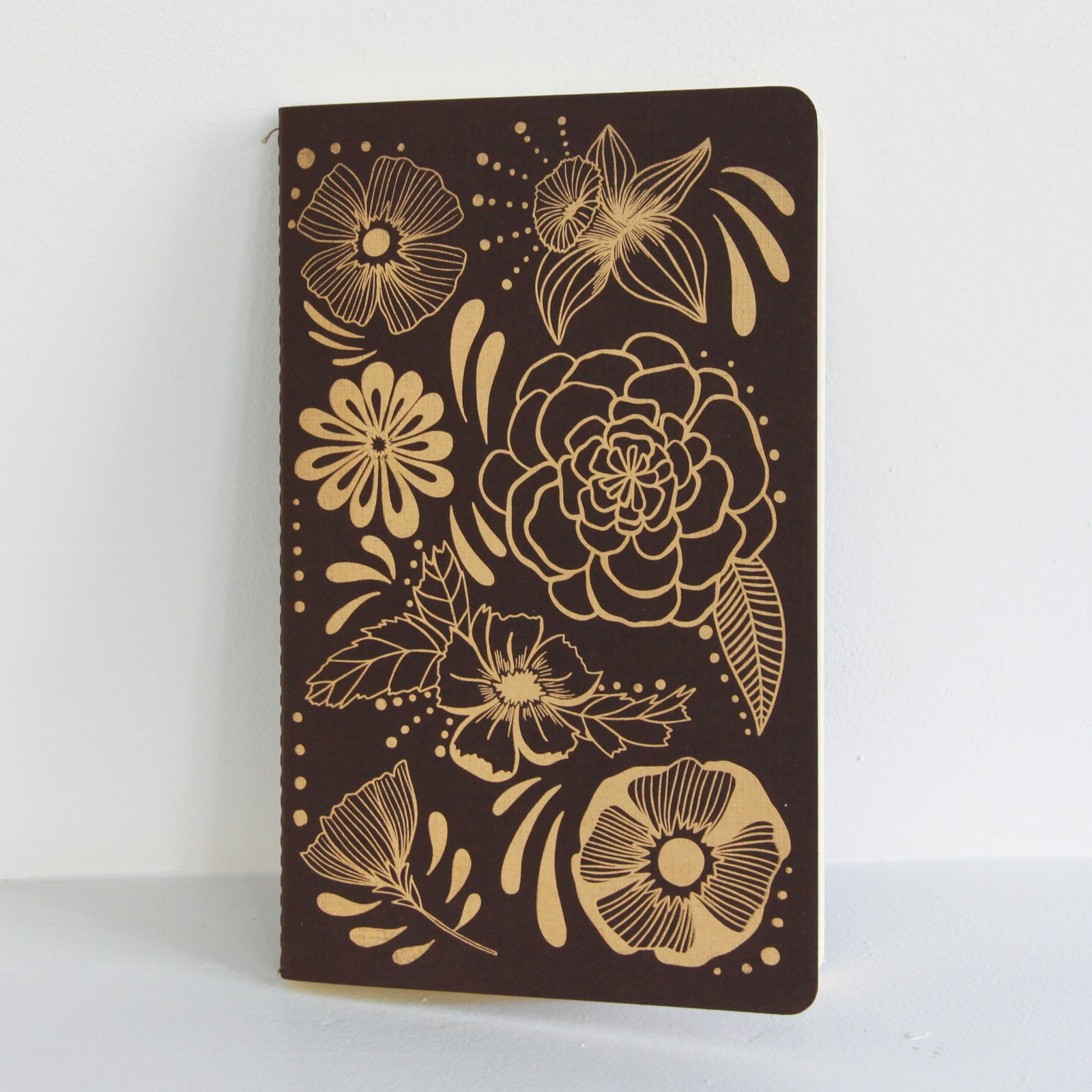 Flower Power Notebook | Native Bear -Leela Hoehn | Augusta, GA at Sustain - Gallery and Shop - Chicago, IL