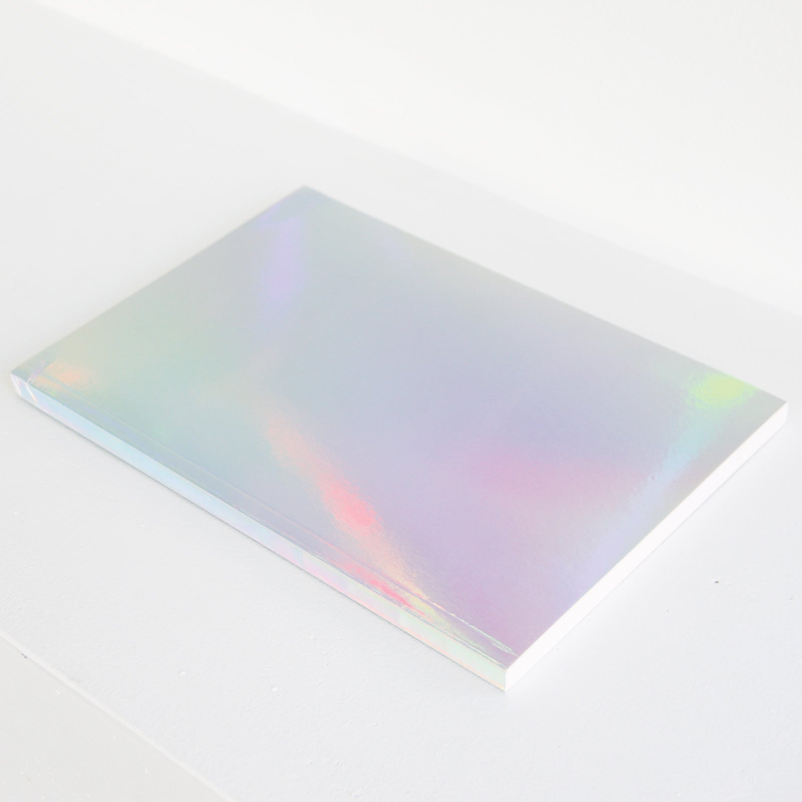 Holographic Notebook - Sustain - Gallery and Workspace | Art, Prints, Zines, Workshops | Chicago, IL