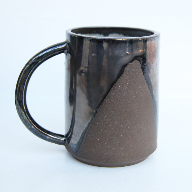 Shapes Mug Collection | Mia Rose Schachter - Paperclip Pottery | Mia Rose Schachter - Paperclip Pottery | Brooklyn, NY at Sustain - Gallery and Shop - Chicago, IL