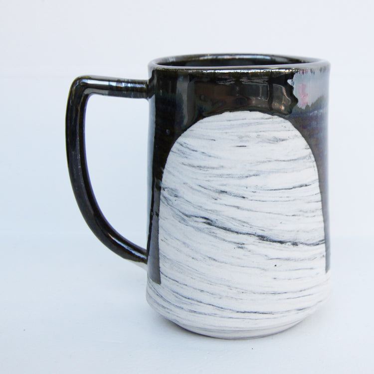 Shapes Mug Collection | Mia Rose Schachter - Paperclip Pottery - Sustain - Gallery and Workspace | Art, Prints, Zines, Workshops | Chicago, IL