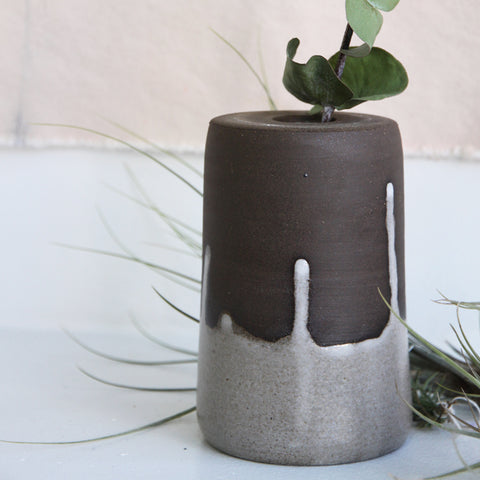 Drip Vase | Mia Rose Schachter - Paperclip Pottery | Mia Rose Schachter - Paperclip Pottery | Brooklyn, NY at Sustain - Gallery and Shop - Chicago, IL