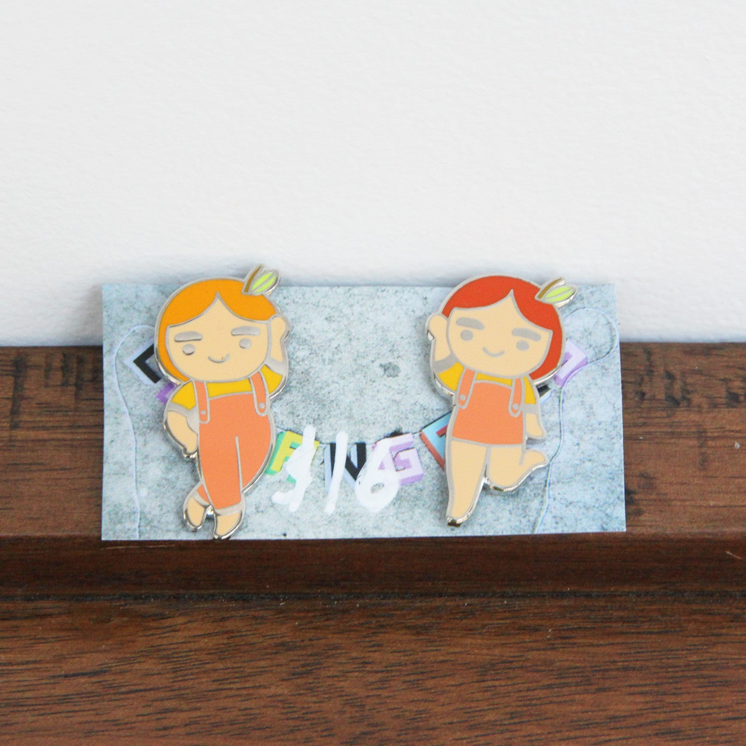 Pair of Peaches | Es Super Fun - Sustain - Gallery and Workspace | Art, Prints, Zines, Workshops | Chicago, IL