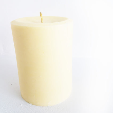 Shades of Yellow Pillar Candle | Frontier Supply Shop | Chicago, IL at Sustain - Gallery and Shop - Chicago, IL