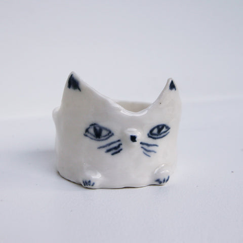 Ceramic Porcelain Sitting Creature - Matilde Digmann sold by Sustain Gallery