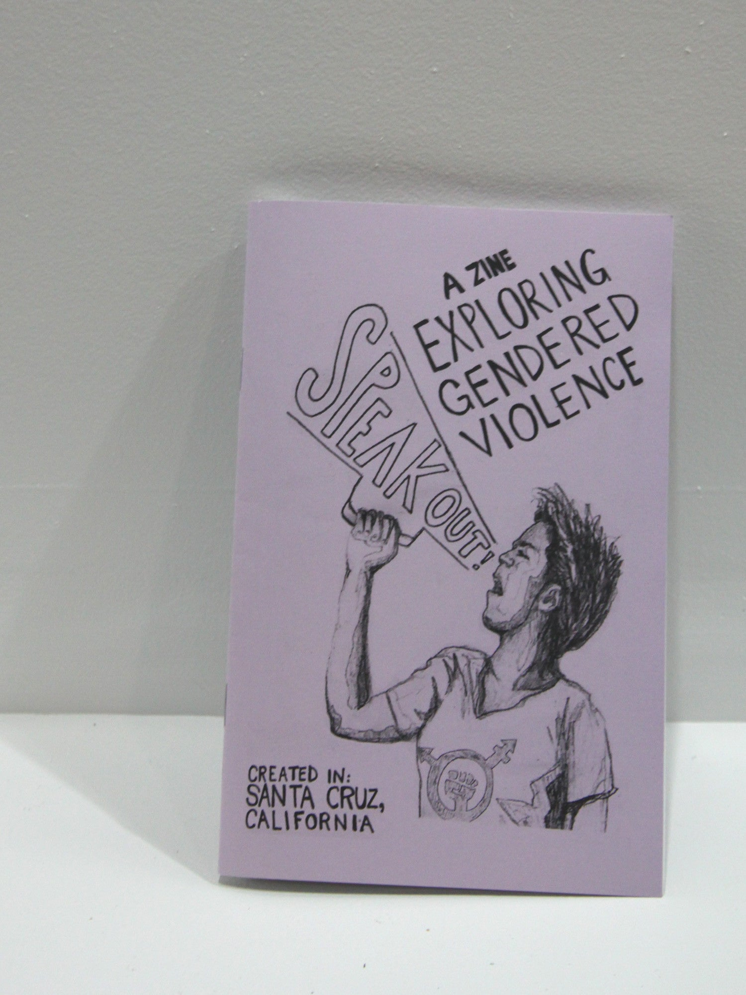 Speak Out!: A Zine Exploring Gendered Violence | Microcosm Publishing at Sustain - Gallery and Shop - Chicago, IL