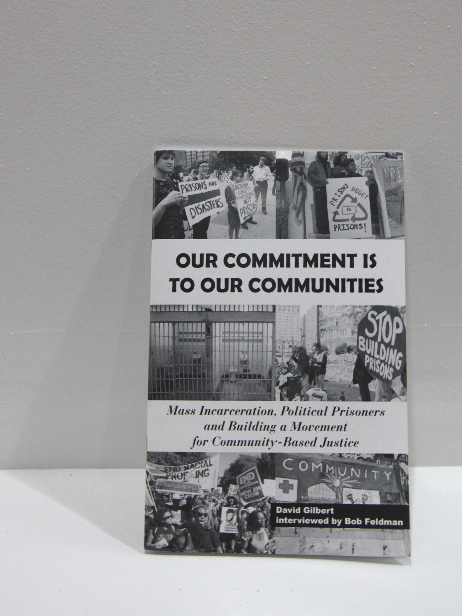 Our Commitment Is To Our Communities | Microcosm Publishing at Sustain - Gallery and Shop - Chicago, IL