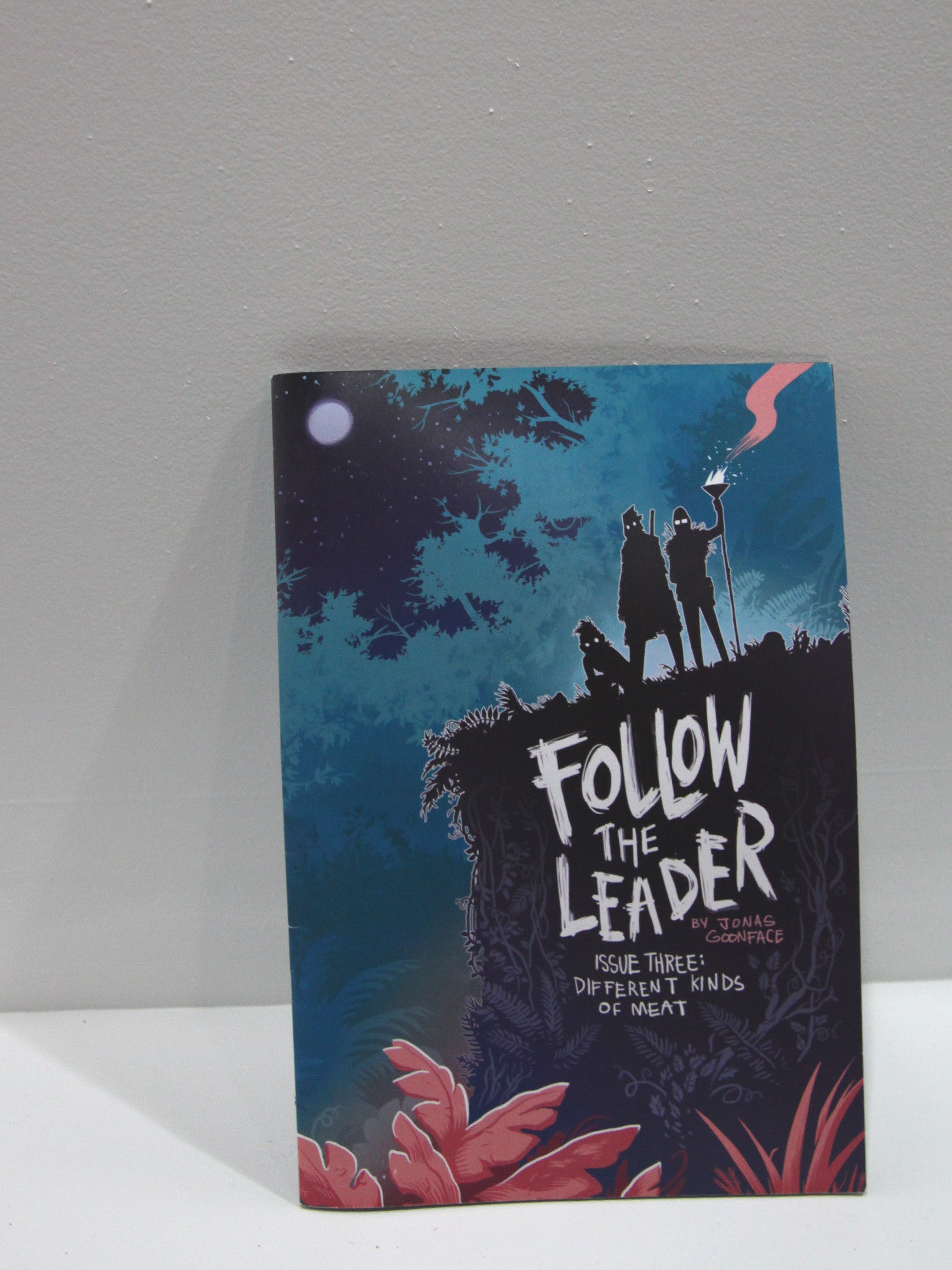 Follow the Leader  Issue Three : Different Kinds of Meat | Jonas Goonface at Sustain - Gallery and Shop - Chicago, IL