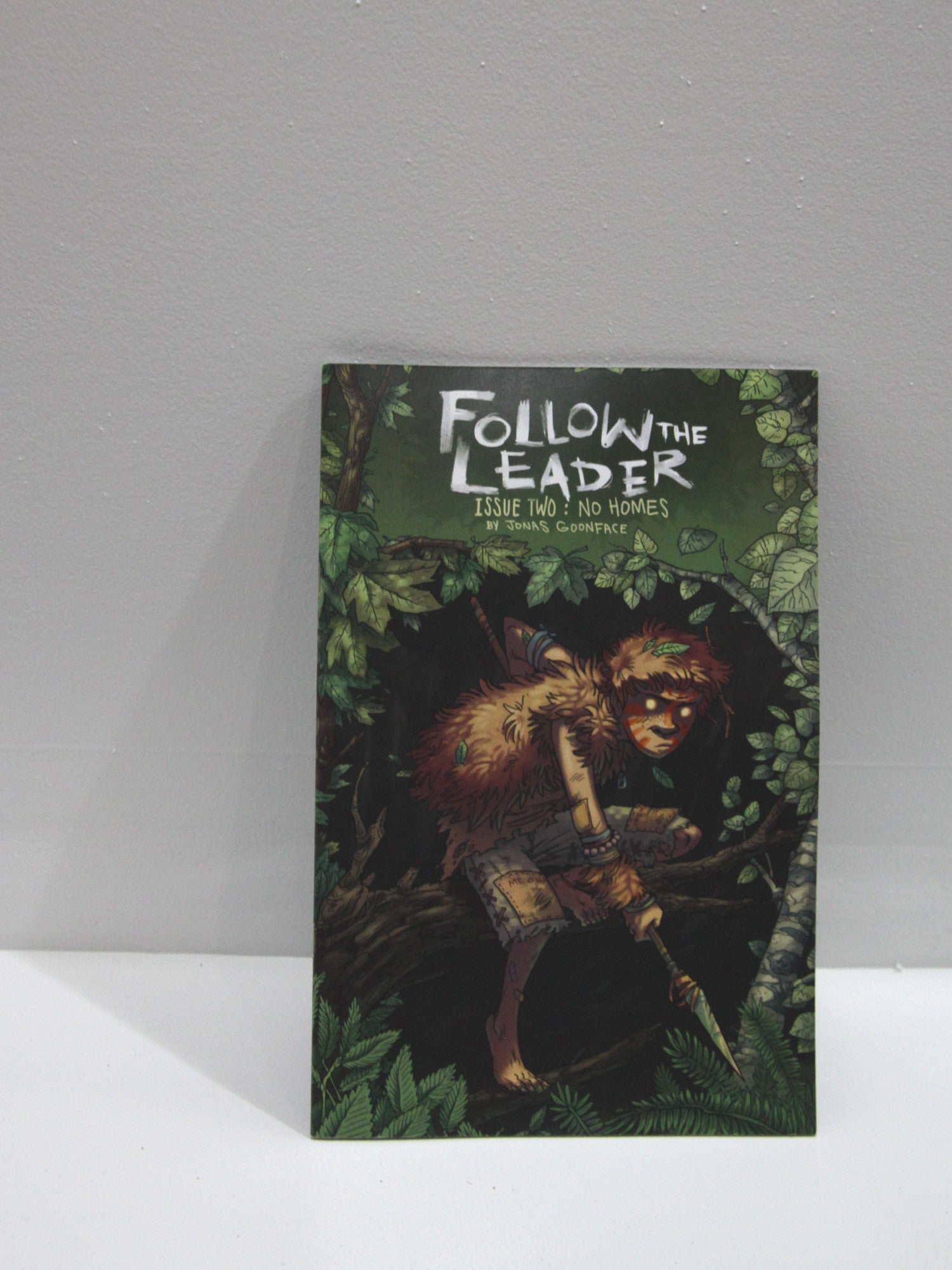 Follow the Leader  Issue Two : No Homes | Jonas Goonface at Sustain - Gallery and Shop - Chicago, IL