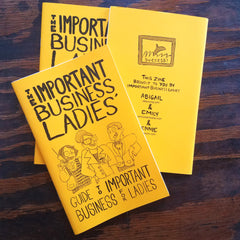 The Important Business Ladies' Guide to Important Business for Ladies | Antiquated Future at Sustain - Gallery and Shop - Chicago, IL