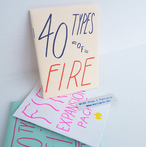 40 Types of Fire |  Sustain Gallery - Artwork, Zines, Ceramics & Plants