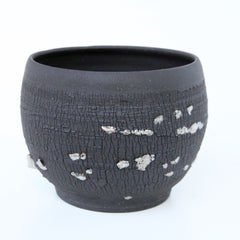Silver Nugget Planter | Elizabeth Eisenstein - ZZIEE Ceramics | Elizabeth Eisenstein - ZZIEE Ceramics | Joshua Tree, CA at Sustain - Gallery and Shop - Chicago, IL