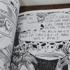 Tounge Breaks | Sustain - Gallery and Workspace | Artwork Zines Plants Ceramics | Chicago, IL at Sustain - Gallery and Shop - Chicago, IL