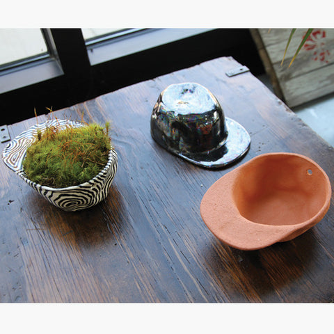 Ceramic Hat Bowls | Wyatt Little | Wyatt Little | Texas at Sustain - Gallery and Shop - Chicago, IL