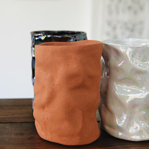 Wrinkle Cup | Wyatt Little | Wyatt Little | Texas at Sustain - Gallery and Shop - Chicago, IL