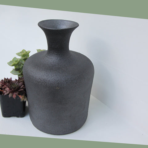 Gunmetal Vase | Elizabeth Eisenstein - ZZIEE Ceramics | Elizabeth Eisenstein - ZZIEE Ceramics | Joshua Tree, CA at Sustain - Gallery and Shop - Chicago, IL