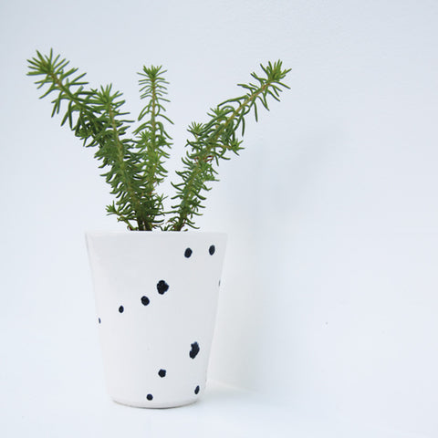 Small Speckle Planter | Elizabeth Eisenstein - ZZIEE Ceramics | Elizabeth Eisenstein - ZZIEE Ceramics | Joshua Tree, CA at Sustain - Gallery and Shop - Chicago, IL