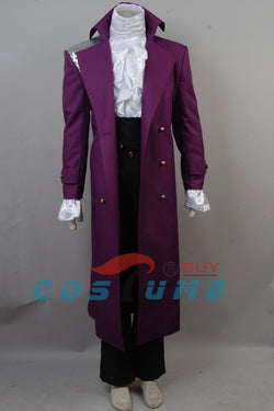 Prince Rogers Nelson in Purple Rain Coat ( Top and Pants Included)  For Adults