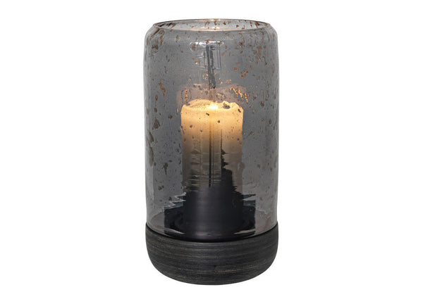Luster Hurricane Lantern Black Tall - Nomad The Store - Nomad The Store