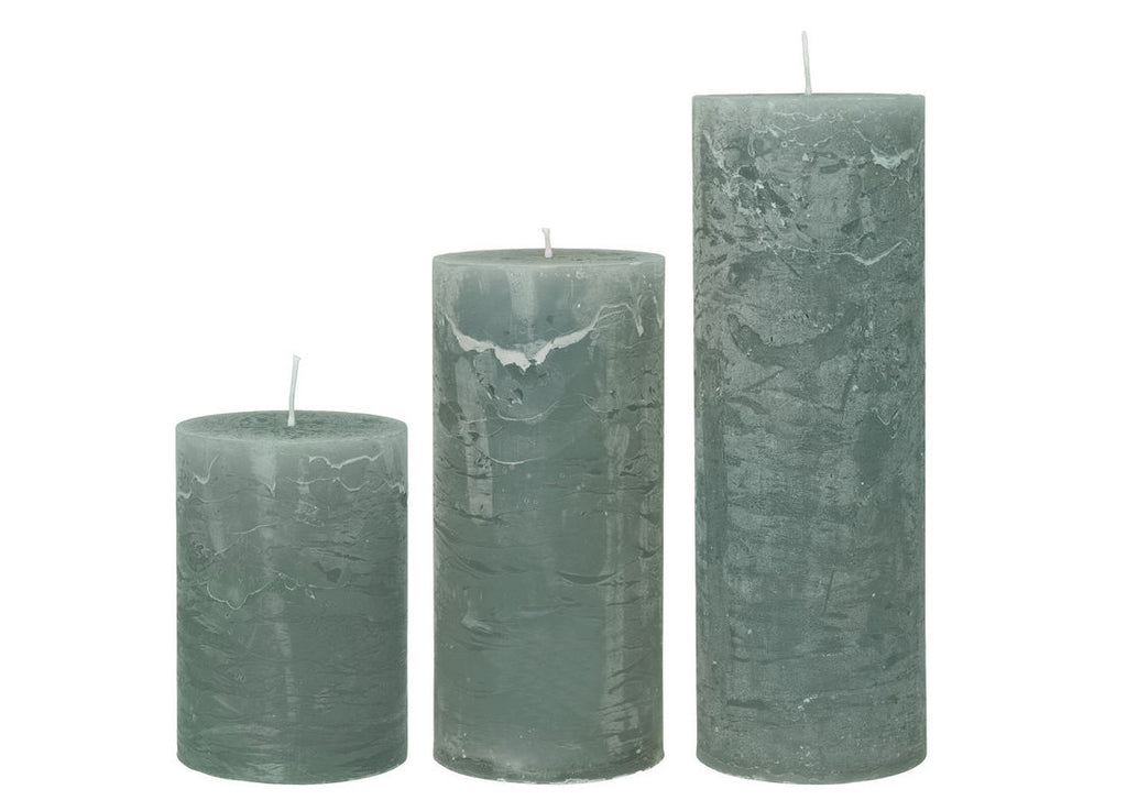 Rustic Candle Moss - Nomad The Store - Nomad The Store