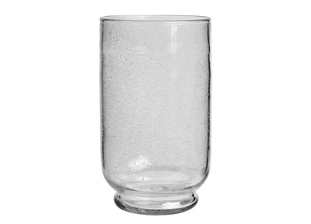 Cora Hurricane Vase Clear - Nomad The Store - Nomad The Store