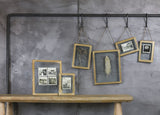 Azizi Wall Hung Brass Frame - Nkuku - Nomad The Store