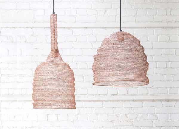 Copper Mesh Lampshade - Nomad The Store - Nomad The Store
