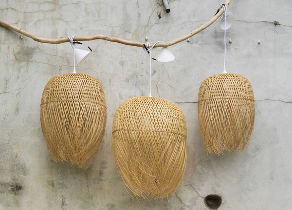 Woven Nest Lampshade - Nomad The Store - Nomad The Store